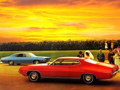 My first car...1971 Ford Torino 500 muscle classic