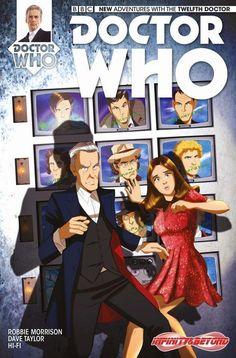 DESPOP ART & COMICS: EXCLUSIVE DR WHO VARIANT COVER by DES TAYLOR