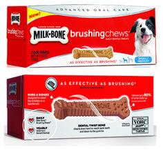 $1.00 off any ONE (1) Milk-Bone Brushing Chews Coupon