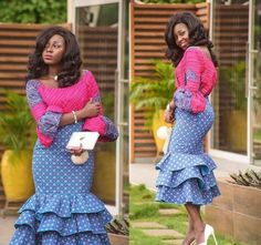 Check out these latest african fashion trends we have lined up for you today. They look classic and absolutely gorgeous.Beautiful, Super Stylish and Unique Ankara Style For African Woman Unique Ankara Styles, Ankara Long Gown Styles, Latest Ankara Styles, Ankara Gowns, Ankara Dress, Dress Styles, African Print Dresses, African Fashion Dresses, African Dress