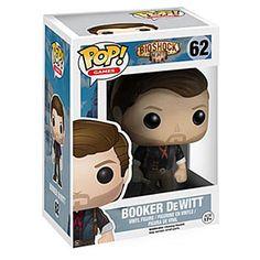BioShock - Booker DeWitt - 62  - samlefigur - ca. 10 cm høy - vinylfigur nr. 62
