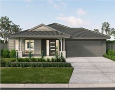 The Lloyd home incorporates plenty of living space and outdoor room perfect for every occasion! Discover the new home designs in QLD by Metricon. Two Storey House Plans, New Home Designs, Buildings, New Homes, Houses, House Design, Outdoor Decor, Inspiration, Home Decor