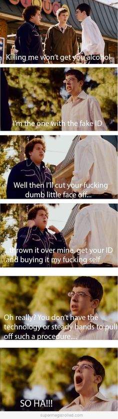 SuperBad! One of my favorite movies ever!