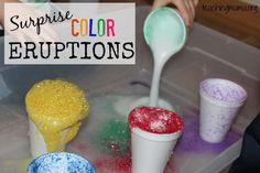 Surprise Color Eruptions