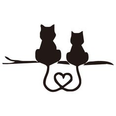 "SAMOLEPKY NA AUTO | KOČKY | SAMOLEPKA NA AUTO "" KOČKA V AUTĚ "" silueta KOČKA 6 | CoolHome.cz Cat Silhouette Tattoos, Silhouette Portrait, Stencils, Cat Love, Crazy Cats, Cat Drawing, Cute Cats, Cat Art, Tattoo Designs"