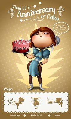 Chun Li's cake!