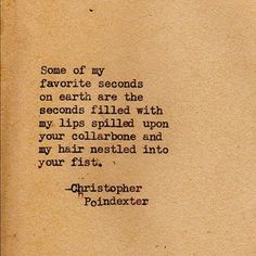 """Romantic Universe"" series poem #35 Christopher Poindexter"