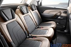 Citroën C4 Picasso Gama C4 Picasso Gama C4 Picasso Monovolumen Interior Asientos 5 puertas