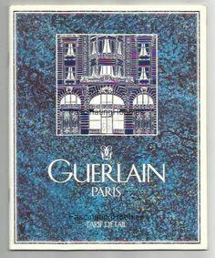 Vintage Brochure GUERLAIN PARIS  Mint 30 by FascinatingHobbies