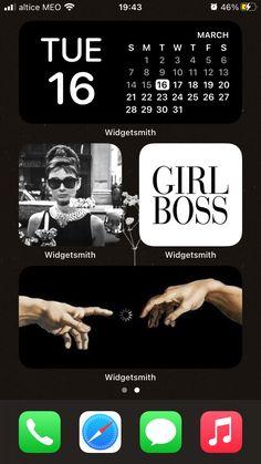 Black aesthetic for iPhone Girl Boss, Iphone, Black, Black People