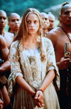 Alice Munro - Jodhi May in The Last of the Mohicans, set in 1757 (1992).