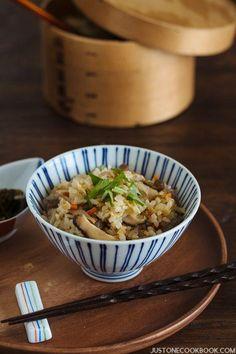 Takikomi Gohan (Japanese Mixed Rice) | Easy Japanese Recipes at JustOneCookbook.com
