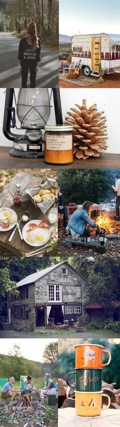 Camping Bachelorette Inspiration Board