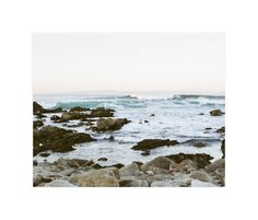 """""""Rocky Coast"""" - Art Print by Janel Galvez in beautiful frame options and a variety of sizes."""