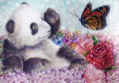Little Panda by Alena-Koshkar.deviantart.com on @deviantART