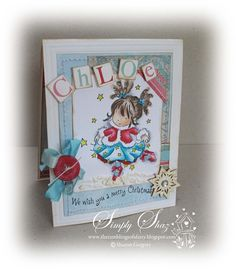 Lilly of the valley Christmas card