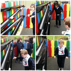 Drainpipe Ball Run: Brilliant addition to any early years playground!