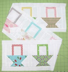 Bee In My Bonnet: The Bee in my Bonnet Row Along...Row 12 - Sewing Baskets!!!