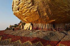 golden rock myanmar | Burma, Kyaiktiyo (Golden Rock) | Flickr - Photo Sharing!
