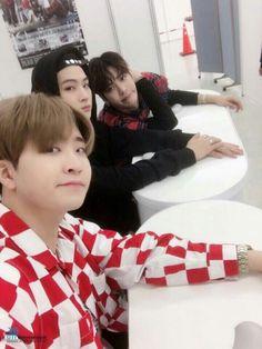 Youngjae, JB, and Jackson