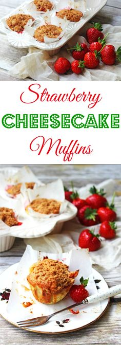These Strawberry Cheesecake Muffins with Crumble Top make the most of fresh summer produce. Get the recipe for these tasty cakes over at Supper in the Suburbs. Why not scoff one for breakfast? Eat as a snack? Or even as a dessert!