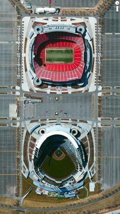 Kauffman Stadium, Arrowhead Stadium, Kansas City, Missouri, USA
