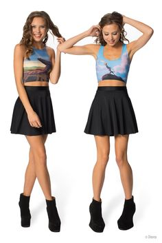 Pride Rock Reversible Crop (WW $55AUD / US $50USD) by Black Milk Clothing