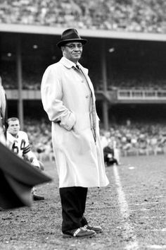 Vince Lombardi - Built Green Bay Packers into Dynasty in the Packers Football, Sport Football, Football Players, Football Coaches, School Football, Packers Baby, Bears Football, Football Season, Green Bay Packers Players