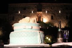 #Tiffany #Weddingcake #Castellodimontignano