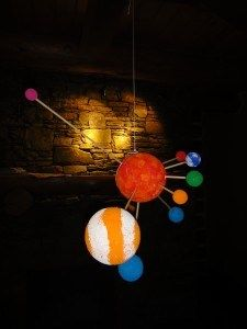 solar system learning