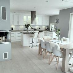 46 most popular scandinavian kitchen ideas 43 Home Decor Kitchen, Dining Room Design, Open Plan Kitchen Dining, Kitchen Remodel, Kitchen Remodel Small, Open Plan Kitchen Living Room, Modern Kitchen Design, Kitchen Renovation, Kitchen Design