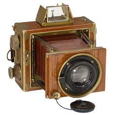 "Ernemann ""Tropen-Klapp-Camera"" 6,5 x 9 cm, 1922"