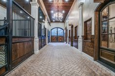 Clayton Boyd Industries is the premier builder of Luxury Horse Arenas, Custom Barns, and other equestrian facilities. Equestrian Stables, Horse Stables, Horse Farms, Dream Stables, Dream Barn, Luxury Horse Barns, Horse Barn Designs, Horse Arena, Horse Barn Plans