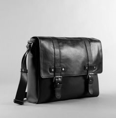 Easy Rider Nylon and Leather Messenger Bag - Kenneth Cole