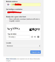 Got this Captcha making a gmail account )
