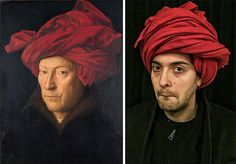 recreate famous paintings in real life! Fun for middle school?