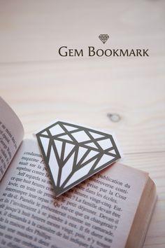 [DIY] Gem Bookmark