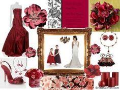 Burgundy wedding flower centerpieces Washington Dc   The Wedding Specialists