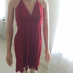Red Party Dress Perfect red night out dress. Dresses Midi
