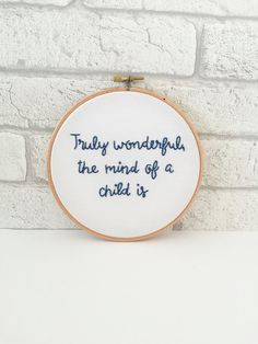 This is such a lovely quote as the mind of a child, truly is wonderful! This beautiful quote is a quote from Yoda, from the Star Wars Movies. This