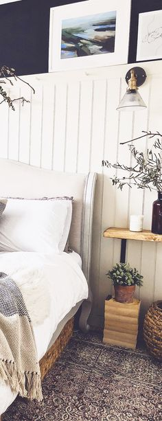Add plenty of elements and textures to create a homely look and feel! Master Bedroom Makeover, Master Bedroom Design, Cosy Bedroom, Bedroom Decor, Grey Bedroom With Pop Of Color, Boys Bedroom Furniture, Tv Wall Design, Bedroom Flooring, Retro Lighting