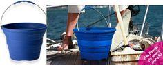 Pack Away Silicone Bucket - Folding Bucket