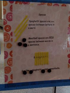 Kindergarten Writing on Pinterest | Anchor Charts, Punctuation Anchor ...