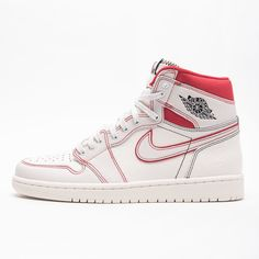"Another is on its way in March. This ""Phantom"" colorway is set to drop on because Jordan Brand said so. For a closer look at this Air Jordan 1 Retro High OG, tap the link in our bio. Jordan Shoes Girls, Jordans Girls, Nike Air Jordans, Girls Shoes, Retro Jordans, Sneakers Mode, Sneakers Fashion, Shoes Sneakers, Adidas Shoes"
