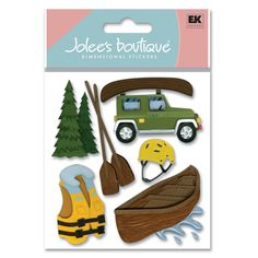 Jolee's Boutique® | Canoe Trip Stickers  $4.39