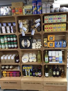 """"""" we are making a big feature on amazing local foods Food Retail, Crates, Retail Displays, Tea, Foods, Twitter, Amazing, Food Food, Food Items"""