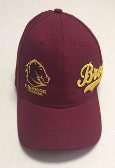 Brisbane Broncos Hat Australia Baseball Cap National Rugby League NRL Queensland #TeamNRL