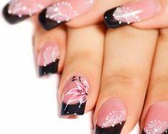 photo nail art japonais deco