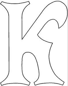 Letras bonitas individuales - Imagui