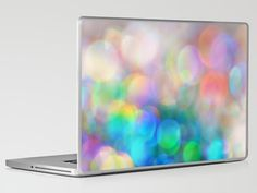Color me Happy...Laptop & iPad Skin - by: Lisa Argyropoulos - $30.00 - #bokeh #color #photography